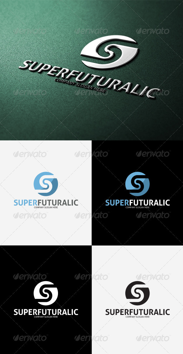 GraphicRiver Super Futuralic S Letter Logo 3291483