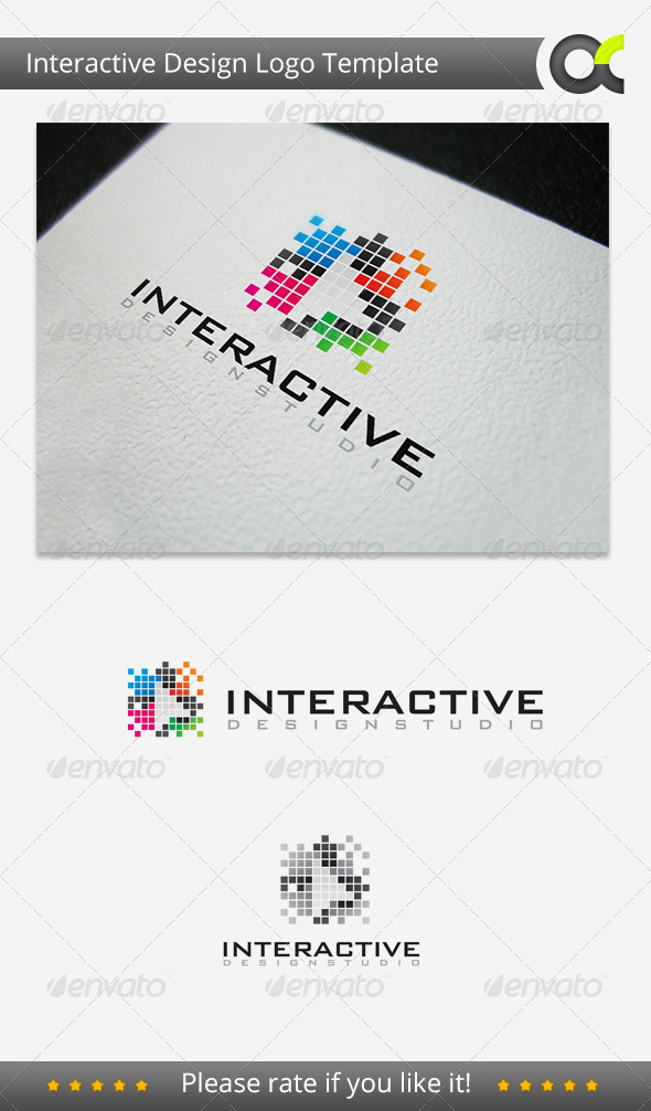 GraphicRiver Interactive Deisgn Studio Logo 3282724