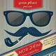 Movember Retro Party Flyer - GraphicRiver Item for Sale