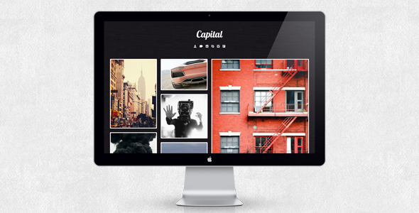Capital - Tumblr Theme
