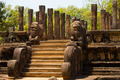 Front Audience Hall Polonnaruwa Ruins Angled - PhotoDune Item for Sale