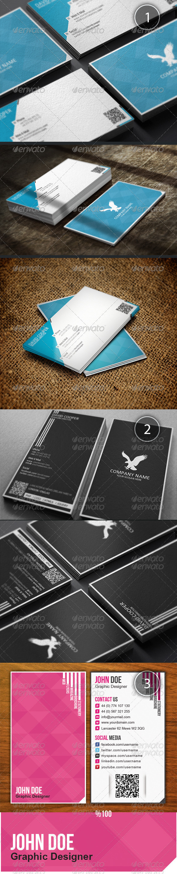 GraphicRiver Business Card Bundle 2 3292280