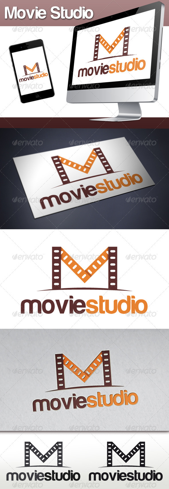 GraphicRiver Movie Lab Logo 3291087