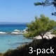 Rocky Beach Behind Conifer Tree (3-pack) - VideoHive Item for Sale