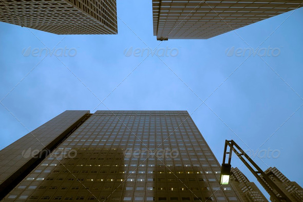 metropolis sky - Stock Photo - Images