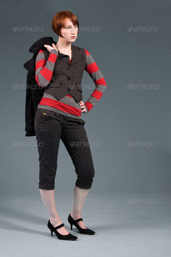 Fashion standing - Stock Photo - Images