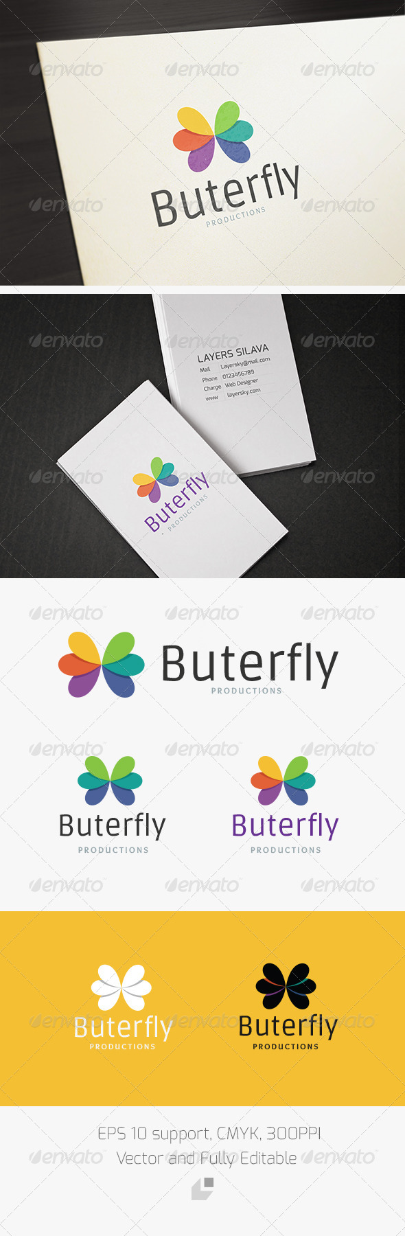 GraphicRiver Butterfly Logo 3284800