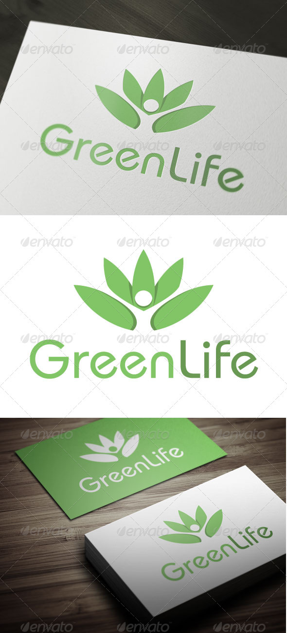 GraphicRiver Green Life 3296322