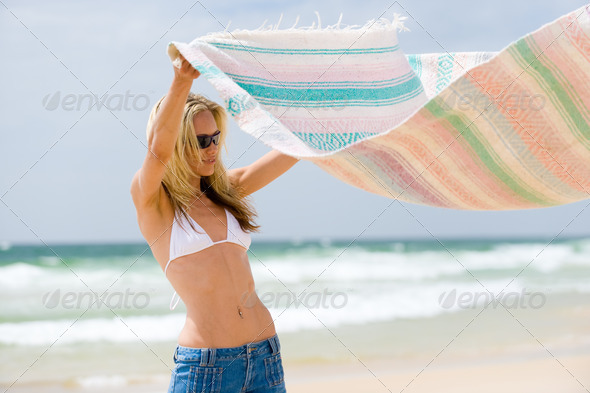 Royalty Free Stock Photography : At The Beach Photodune 343068