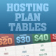 Hosting Price Tables - GraphicRiver Item for Sale