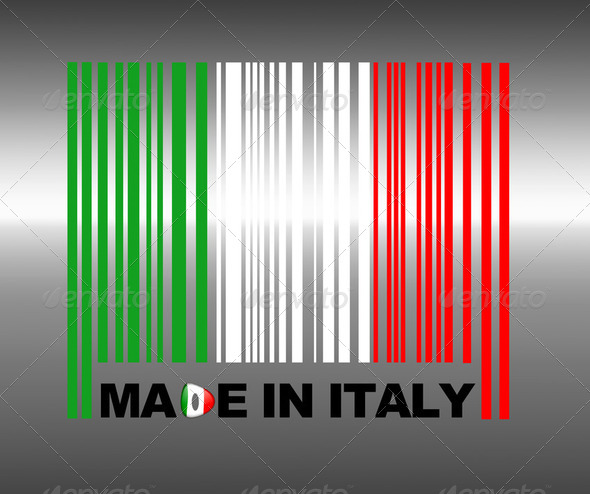 Made in Italy. - Stock Photo - Images