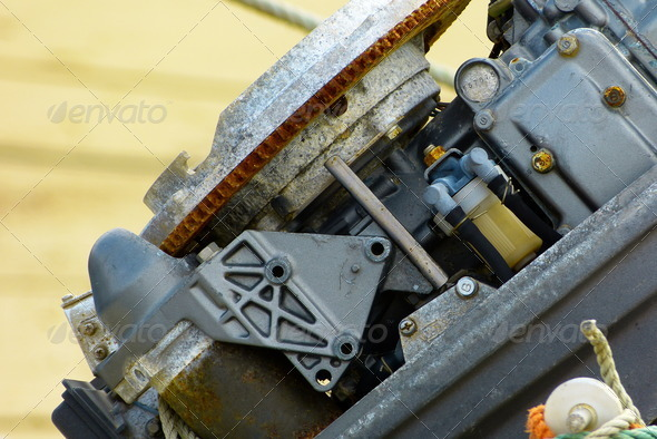Broken Engine - Stock Photo - Images