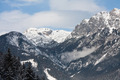 Mountains under snow. Ski resort  Schladming . Austria - PhotoDune Item for Sale