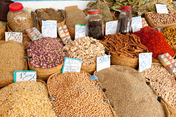 Spice market - Stock Photo - Images
