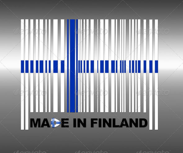 Made in Finland. - Stock Photo - Images