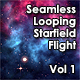 Seamless Looping Starfield Flight Vol 1 - VideoHive Item for Sale