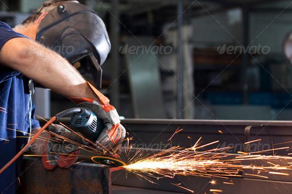 PhotoDune steel factory 2164708