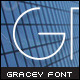 Gracey Font - GraphicRiver Item for Sale