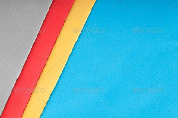 Torn paper with space for your message - Stock Photo - Images