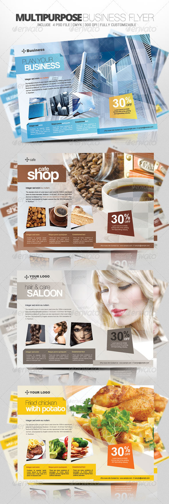 GraphicRiver Multipurpose Business Flyer 3305310