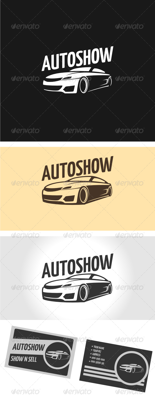 GraphicRiver AutoShow Logo Template 3306563