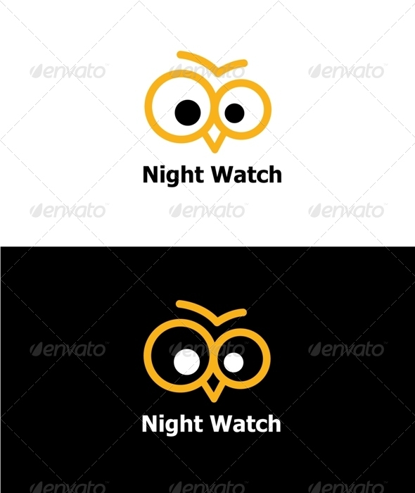 GraphicRiver Night Watch Logo 3306700