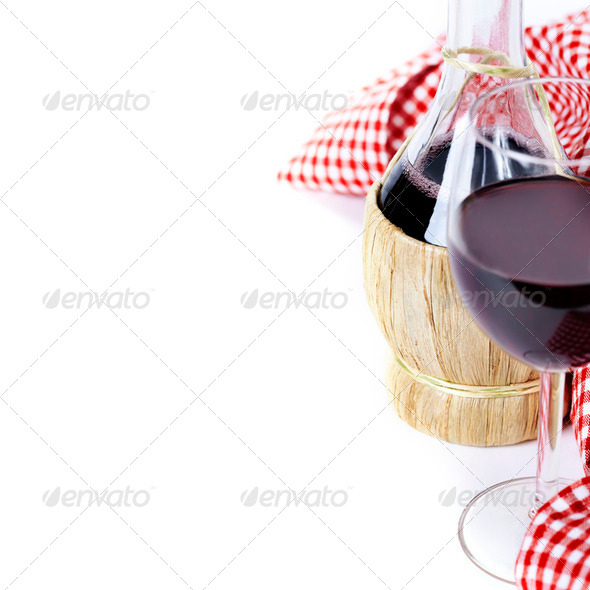 Red wine - Stock Photo - Images