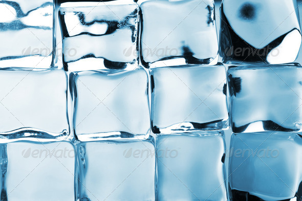 ice cubes background - Stock Photo - Images