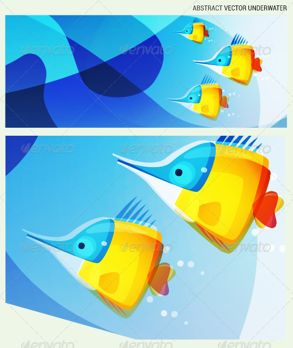 GraphicRiver Abstract Underwater Scape 3308968