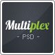 Multiplex - A Clean-Cut Multi Purpose PSD Template - ThemeForest Item for Sale