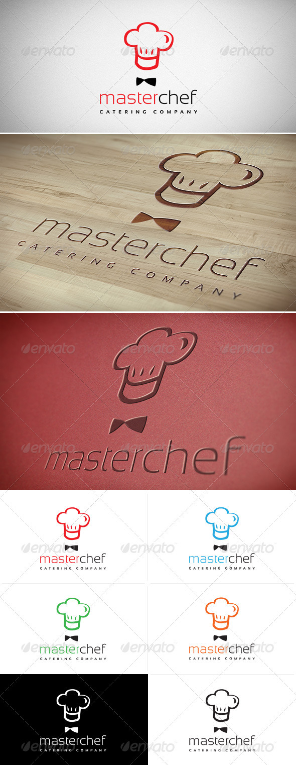 GraphicRiver Master Chef Logo 3310284