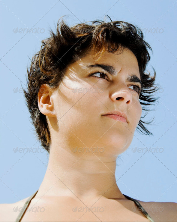 Woman portrait - Stock Photo - Images