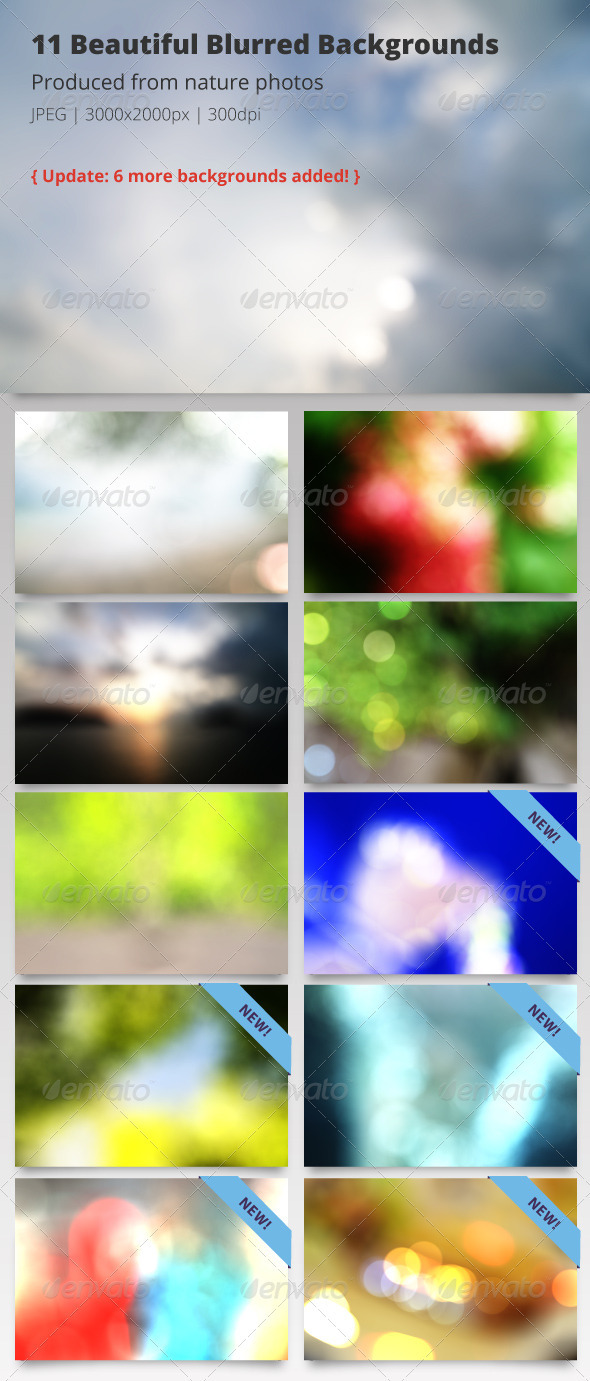 Nature Blurred Backgrounds - Abstract Backgrounds