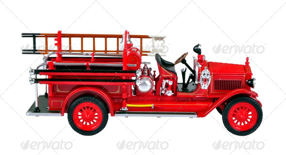 Fire Engine. - Stock Photo - Images