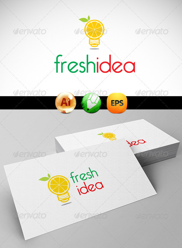 GraphicRiver Fresh Idea Logo Templates 3287537