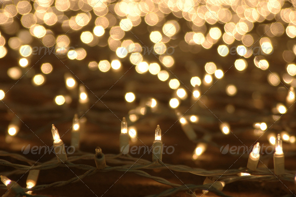 Christmas lights - Stock Photo - Images