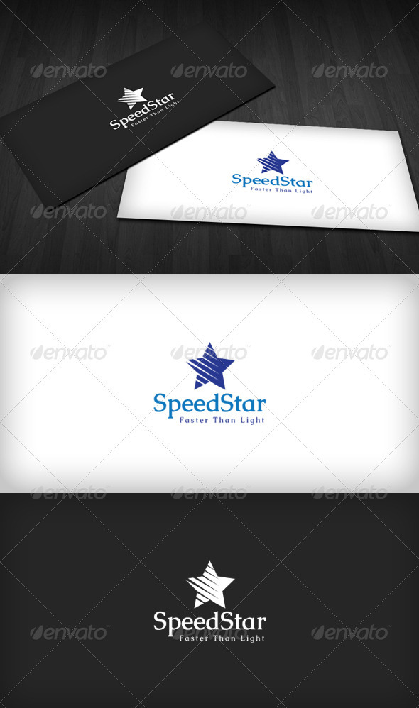 GraphicRiver Speed Star Logo 3310537