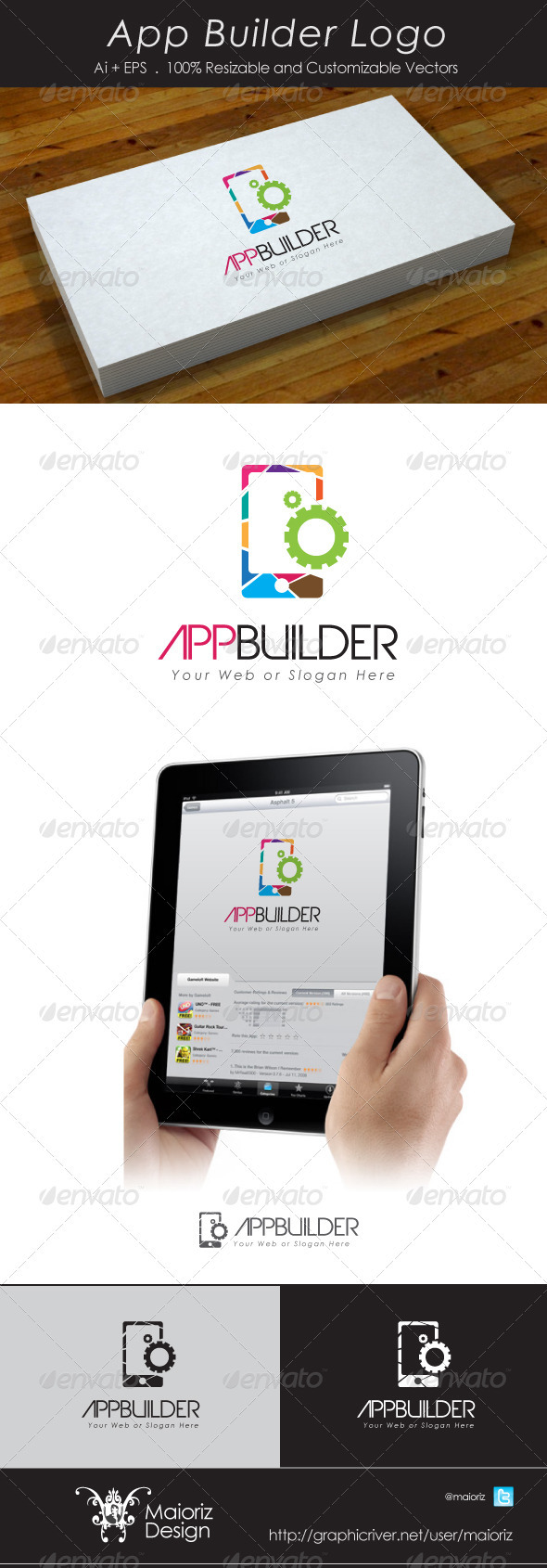 App Builder Logo - Vector Abstract
