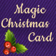 Magic Christmas Card - ActiveDen Item for Sale