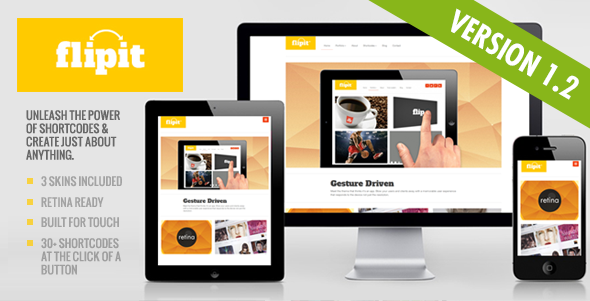 ThemeForest Flipit Responsive Multi Purpose Theme 3051234
