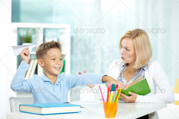 Having fun - Stock Photo - Images