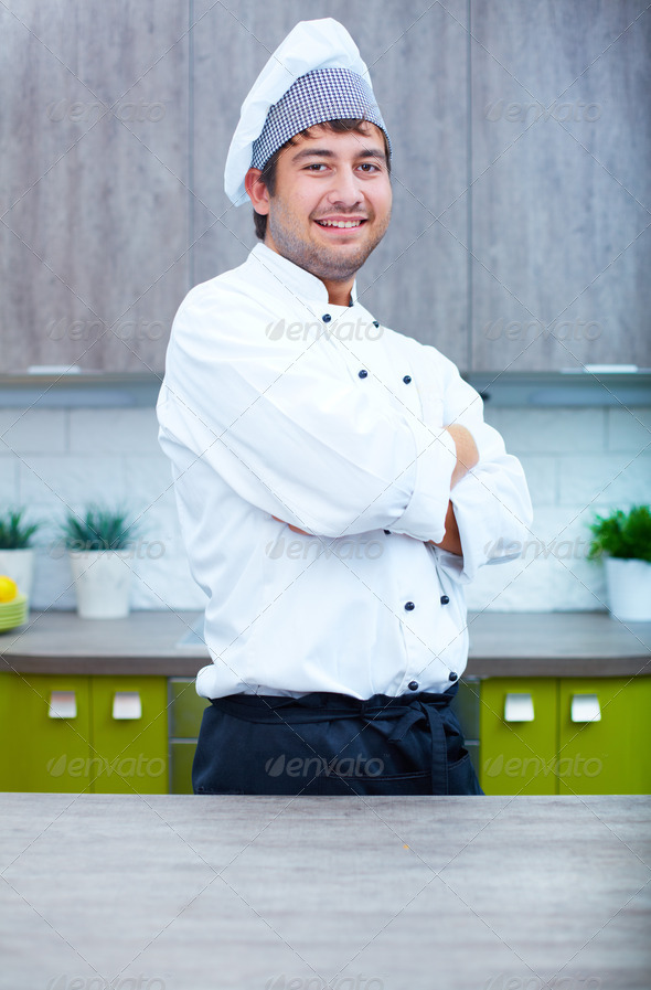 Cookery expert - Stock Photo - Images