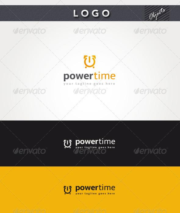 GraphicRiver Power Time Logo 3315238