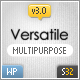 Versatile Premium Corporate & Portfolio WP Theme - ThemeForest Item for Sale