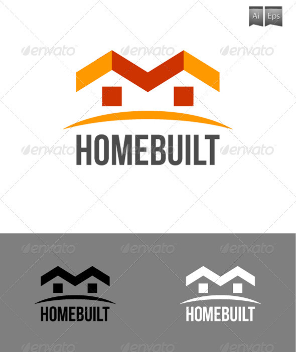 GraphicRiver HomeBuilt Logo 3315426