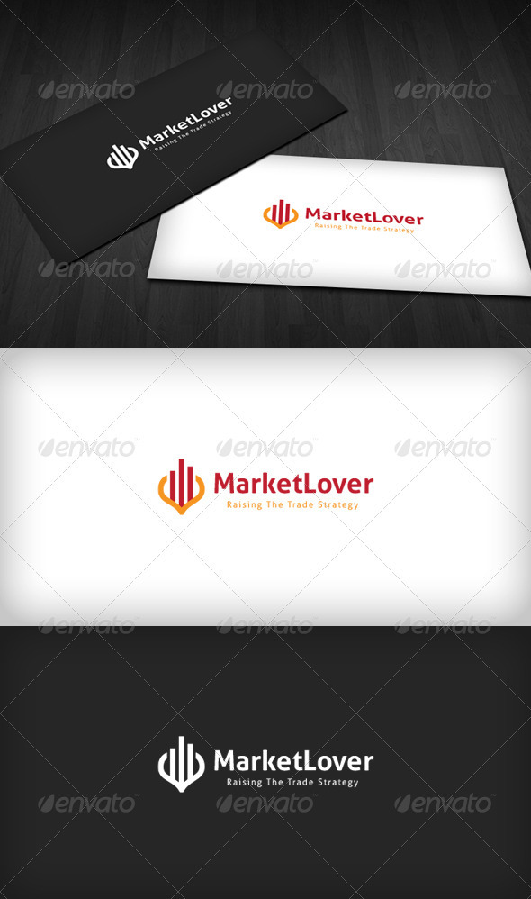 GraphicRiver Market Lover Logo 3315808
