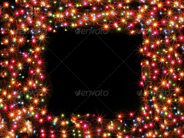 starry frame - Stock Photo - Images