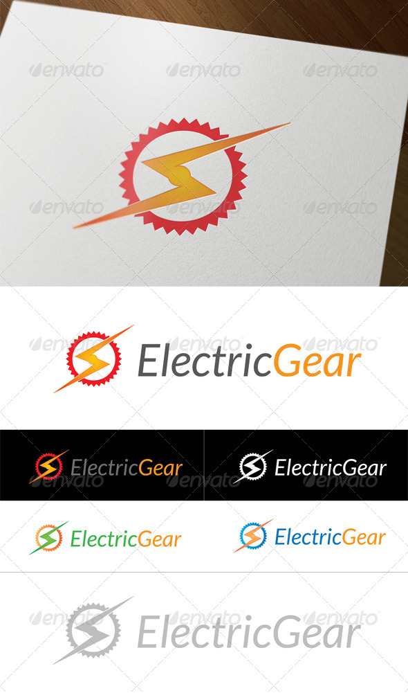GraphicRiver Electric Gear 3316491
