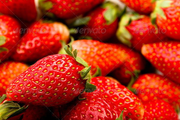 Fresh strawberry - Stock Photo - Images