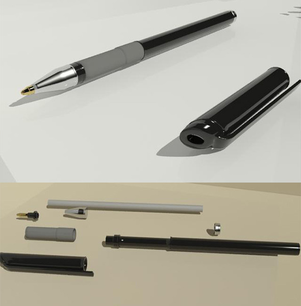 3DOcean Pen 3316608